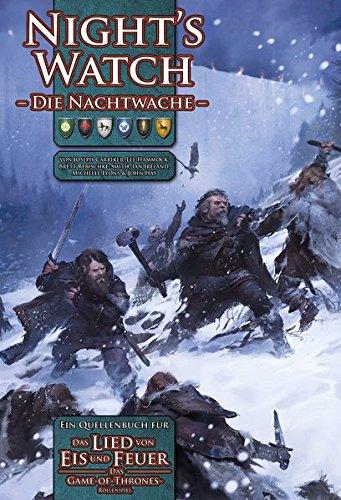 Preisvergleich Produktbild Night´s Watch - Nachtwache: Ein Quellenbuch für: Das Lied von Eis und Feuer - Das Game-of-Thrones-Rollenspiel