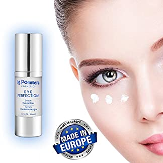 Serum contorno ojos 30ml con ácido hialurónico y colágeno. Crema Anti edad con pantenol vitamina B5 para una piel suave y tersa. Antiarrugas hidratante con Elastina, glicerina para Bolsas y ojeras