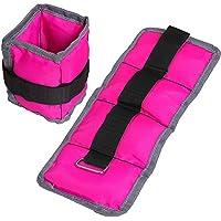Gallant Ladies Pink Wrist Ankle Weights 1kg - 2 X 0.5kg Pair Running Resistance Training Women Straps
