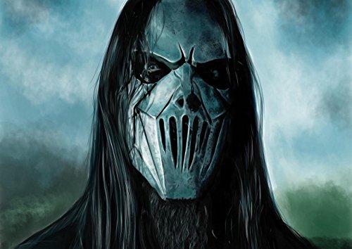 Slipknot 7 Corey Taylor Mick Jones Jim Thomson Root Craig Great Rock Metal-Album Cover, Musik Bilderrahmen Best-Band, für A4-Poster Kunstdruck