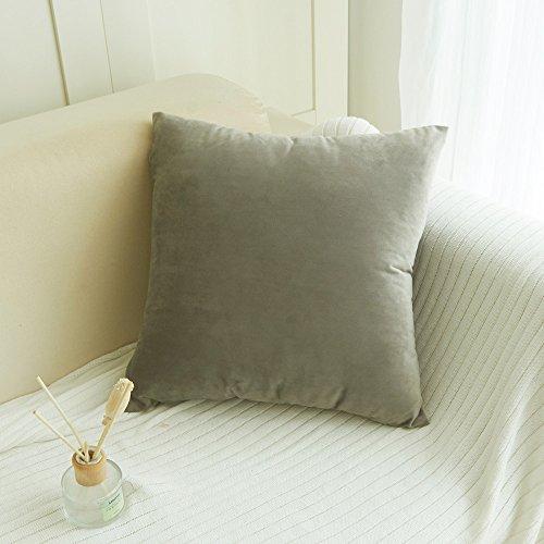 Aiserkly 45x45 cm Samt Kissen Sofa Taille Wurf Kissenbezug Home Decor Kissenbezug