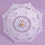 kicode encaje paraguas sombrilla de verano para cloth arte Floral de n..