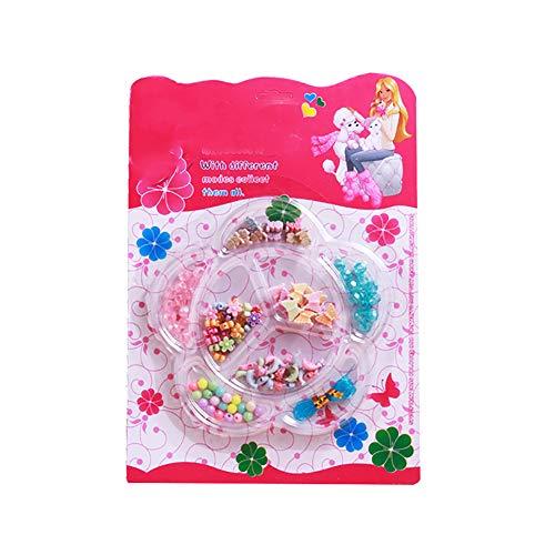 joizo Herstellung Bunte Perlen 1pc Mädchenschmuck Make Puzzle Spielzeug Crafts Set Halskette DIY Armband Kit Kreatives Spielzeug Spielzeug Geschenke für Kinder - Armband Craft Kit