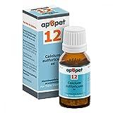 Apopet Schüssler-salz Nummer 12 Calcium sulf.D 6 12 g