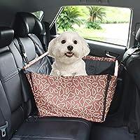 RoadRomao Caliente Asiento de Coche para Mascotas Cubiertas Impermeables Volver Bench Seat Seat Hamaca Bolsa del Interior del Coche Accesorios de Viaje Coche Cubre Mat Animales Perros