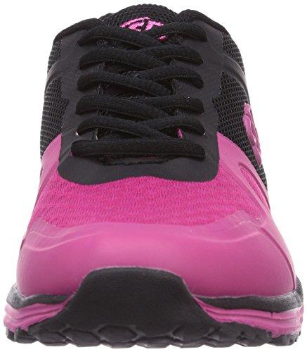 Bruetting  Balance, Chaussures de fitness pour femme Noir Schwarz (schwarz/pink) Noir - Schwarz (schwarz/pink)