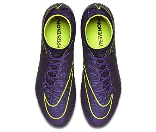 Nike Herren Hypervenom Phantom Ii Sg-Pro Fußballschuhe Lila / Gelb / Schwarz (Hyper Grape / HYPR Grape-Blk-VLT)