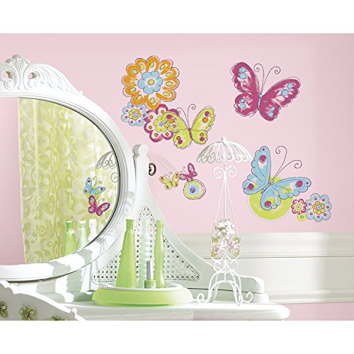 roommates-repositionable-childrens-wall-stickers-brushwork-butterfly
