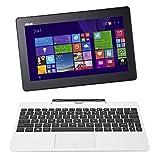 Asus Transformer Book T100TAF-BING-DK005B PC portable Hybride Tactile 10,1' Blanc (Intel Atom, 1 Go de RAM, Disque dur eMMC 32 Go, Windows 8.1) + Microsoft Office 365 inclus