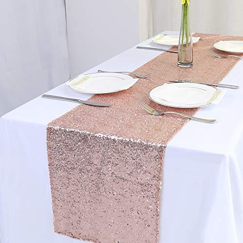 Zdada Tischläufer für Thanksgiving/Weihnachten/Hochzeit/Event/Party 12