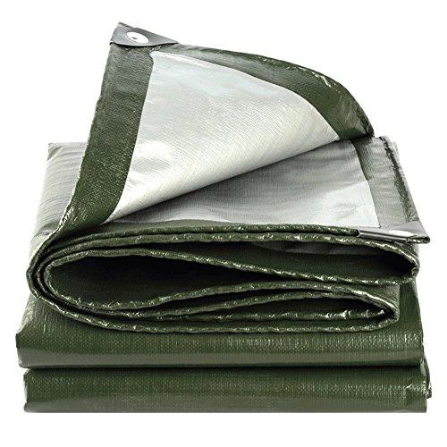 QINAIDI Grüne Farbe Im Freien Verdicken LKW Wasserdichte Plane, Wasserdichte Abdeckung, Regenplane,...