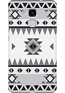 AMEZ designer printed 3d premium high quality back case cover for Huawei Honor 5C (Pattern Classic)