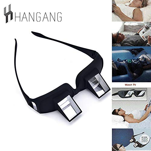 9d1f1ce248 hangang Prisma Gafas de cama Prisma Horizontal Gafas Lazy Spectacles  sdraiati para ligeros/Guardare la