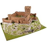 Keranova Kit de cerámica Castillo de La Atalaya, Color marrón (30107)