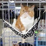 Hunpta Polyester Haustier Ratte Kaninchen / Frettchen Chinchilla / Katze Hängematte Bett Abdeckung Tasche Decken (27x27cm, Multicolor C)
