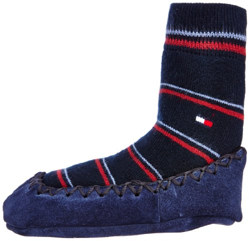 Tommy-Hilfiger-Th-Kids-Usa-Sock-Slipper-1P-Calcetines-para-nio-talla-FR-Taille-unique-Taille-Fabricant