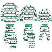 Conjunto de Pijamas Familiares de Navidad,Trajes Navideños Mujeres Hombres Niño,Ropa Invierno Niños de Navidad