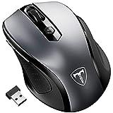 Wireless Mouse, Patuoxun 2.4G USB Wireless Mice Optical PC Laptop Computer Cordless Mouse