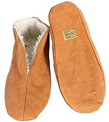 Sonia Originelli Hausschuhe echt Leder Puschen Mokassins Schluffis Gr.35-47 Leather Slippers B333 (36)