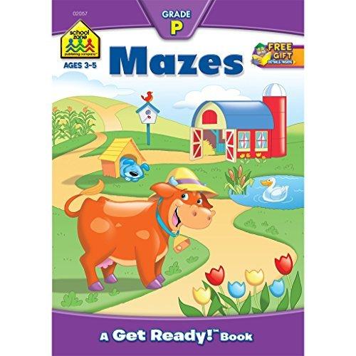 Mazes: A Get Ready Book, Grade P (Get Ready Books) by Barbara Gregorich (2009-11-06)