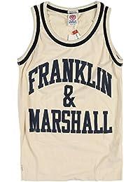 Franklin & Marshall Logo Vest Top
