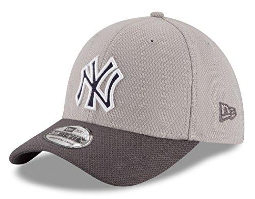 New York Yankees New Era MLB 39THIRTY Cooperstown Team Grayed Flex Fit Hat Hut (Hut Fit Flex)