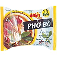 Mama Instant Rice Vermicelli Chand Beef - Paquete de 90 x 55 gr - Total: 4950 gr