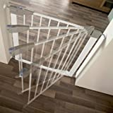 Lindam Sure Shut Orto Pressure Fit Safety Gate - 76 - 82 cm (white) Bild 1