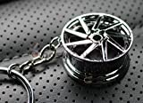 Felge Silber-Chrom #79 Schlüsselanhänger - massiver Anhänger - von VmG-Store OEM VAG DUB