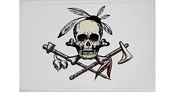 23/Bandiera Bandiera Aufbuegler Patch 9/x 6/cm U24/toppa Cowboy e indiani Motiv N