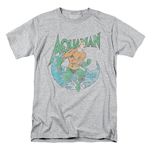 Aquaman Marco Gray Tee Shirt - Large