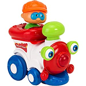 Globo Toys Globo 5154 Vitamina_G Bump and Go Train con luz y Sonido