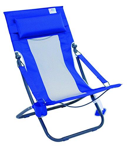 RIO BEACH der Breeze Stuhl, ASHC101-407-1, Blue Textured (Rio Rucksack Stuhl)