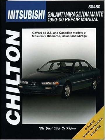Mitsubishi Galant, Mirage, and Diamante, 1990-00 (Chilton's Total Car Care Repair Manual) by Chilton (2000) Paperback