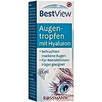 Best View Augentropfen mit Hyaluron 15 ml befeuchten trockene Augen, für Kontaktlinsenträger geeignet preisvergleich bei billige-tabletten.eu