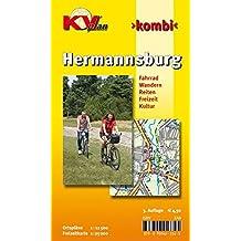 Hermannsburg: 1:12.500 Gemeindeplan mit Freizeitkarte 1:25.000 inkl. Radrouten, Wander- und Reitwegen (KVplan-Kombi-Reihe / http://www.kv-plan.de/reihen.html)