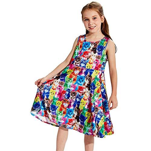 Sublimations-druck-kleid (Alwayswin Infant Baby Mädchen Prinzessin Kleid Kleidung Kurzarm Puppenkragen Frisch Süß Hemdkleid Koreanische Version Rüschen Kleid Love Print Gefälschtes zweiteiliges Rockkleid)
