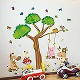 cls Wandtatto Wandsticker Wandaufkleber Kinderzimmer Babyzimmer Bauernhof