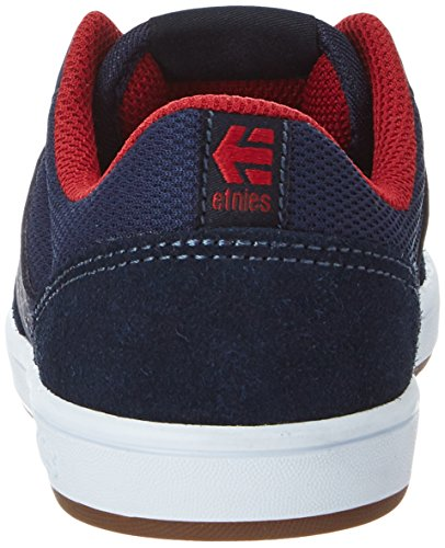 Etnies Unisex-Kinder Kids Marana Low-Top Blau (Blue/Red/White)
