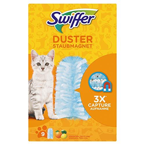 Swiffer Duster Recharges Lingettes Poussières x9