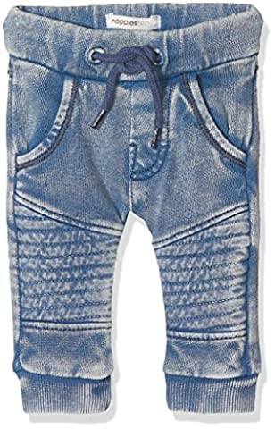 Noppies B Pant Sweat Curved Grants, Pantalon Bébé Garçon, Blau (Medium Blue C145), 9 Mois