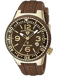 SWISS LEGEND Neptune Women's 44mm Synthetic Sapphire Quartz Watch 11044P-YG-04