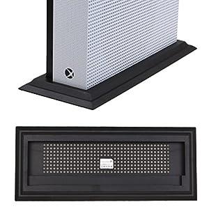 LeSB Xbox One S Standfuß Vertical Stand Halterung zur sichere Aufbewahrung der Konsole