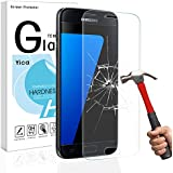 Samsung Galaxy S7 Screen Protector,Yica Galaxy S7 Clear Tempered Glass [Full Screen Coverage] Design Screen Protector for Samsung Galaxy S7
