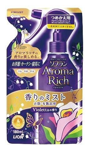 Aroma Rich Aroma Room Fregrance Mist 180ml - Violetta - Refill