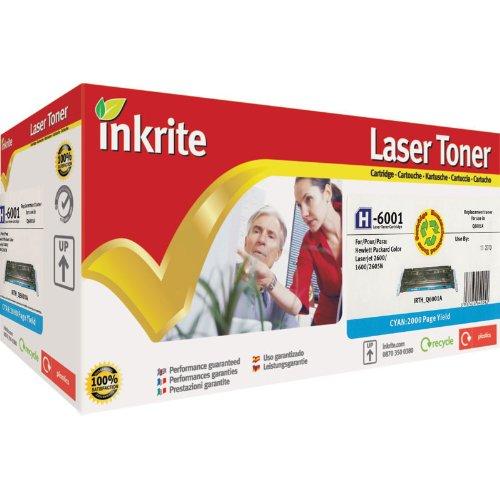 Inkrite Laser-Tonerkartusche kompatibel mit HP 1600/2600/2605 Cyan -