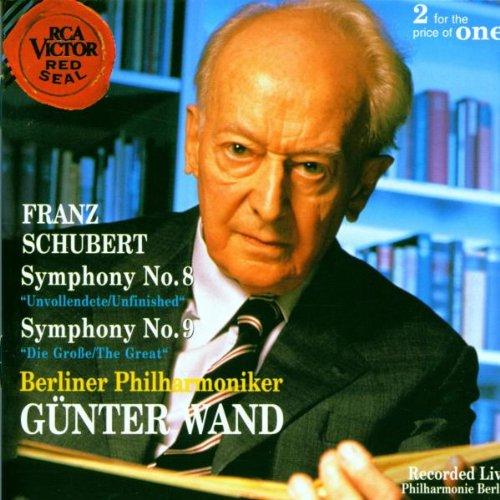 SCHUBERT - Symphonies nos 8 et 9