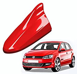 RedClub - Red Shark Fin Replacement Signal Receiver Antenna for Volkswagen Polo