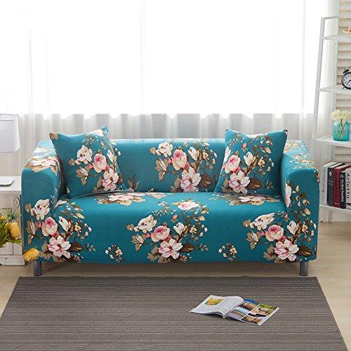 iShine Sofa Überwürfe Sofabezug mit Stretch Elastische Sofabezug Slipcover Sofa Abdeckung in verschiedene Größe und Farbe-B-190x230cm