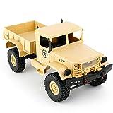 IGEMY WPL B-14 1:16 4WD RC DIY Montieren Military Truck Control Auto Spielzeug (Gelb)